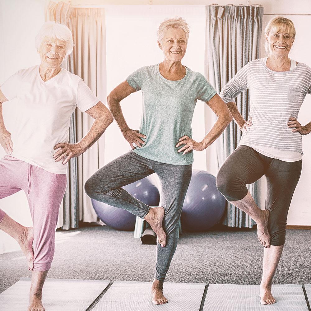Yoga 60+ und Rentner in Falkensee und Dallgow